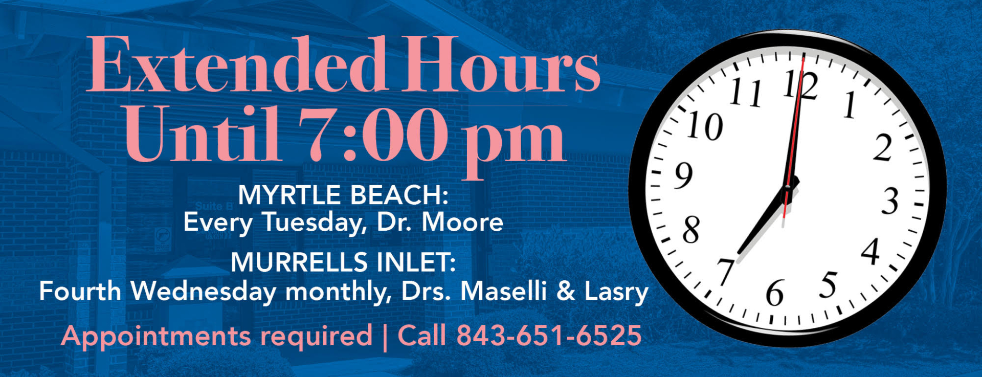 Banner Extended Hours